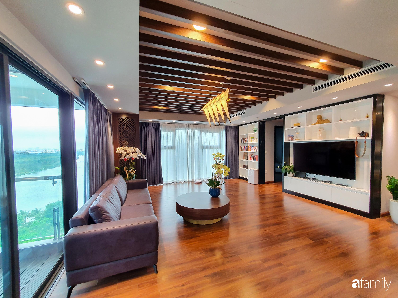 """Căn hộ 150m² có view đắt giá cùng cách thiết kế nội thất """"chanh xả"""" với chi phí khủng 850 triệu đồng ở ngoại thành Hà Nội - Ảnh 5."""