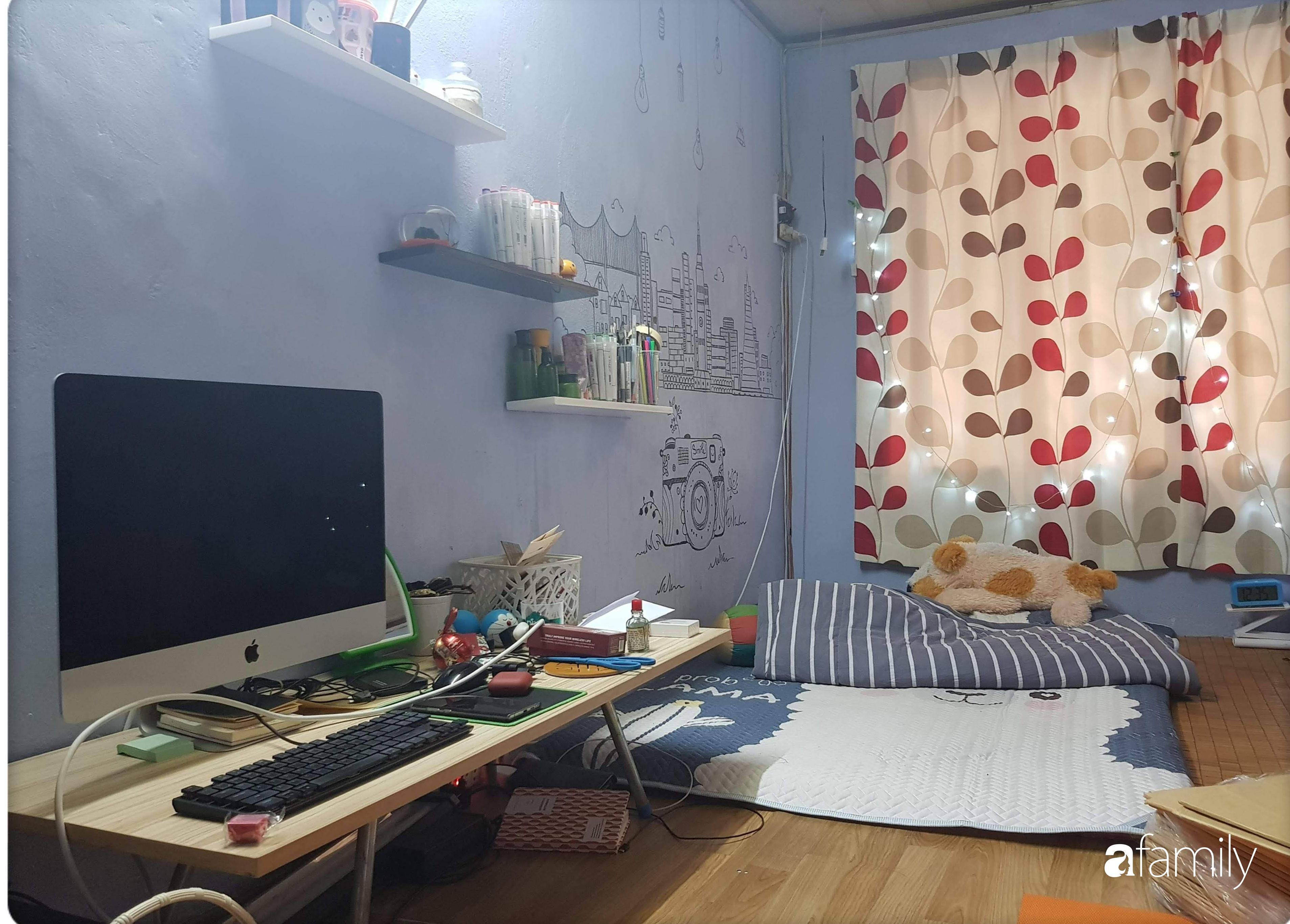 Chỉ với hơn 3 triệu và bí quyết cải tạo phòng ngủ thành không gian ngọt ngào, lãng mạn của cô gái Sài Gòn - Ảnh 3.
