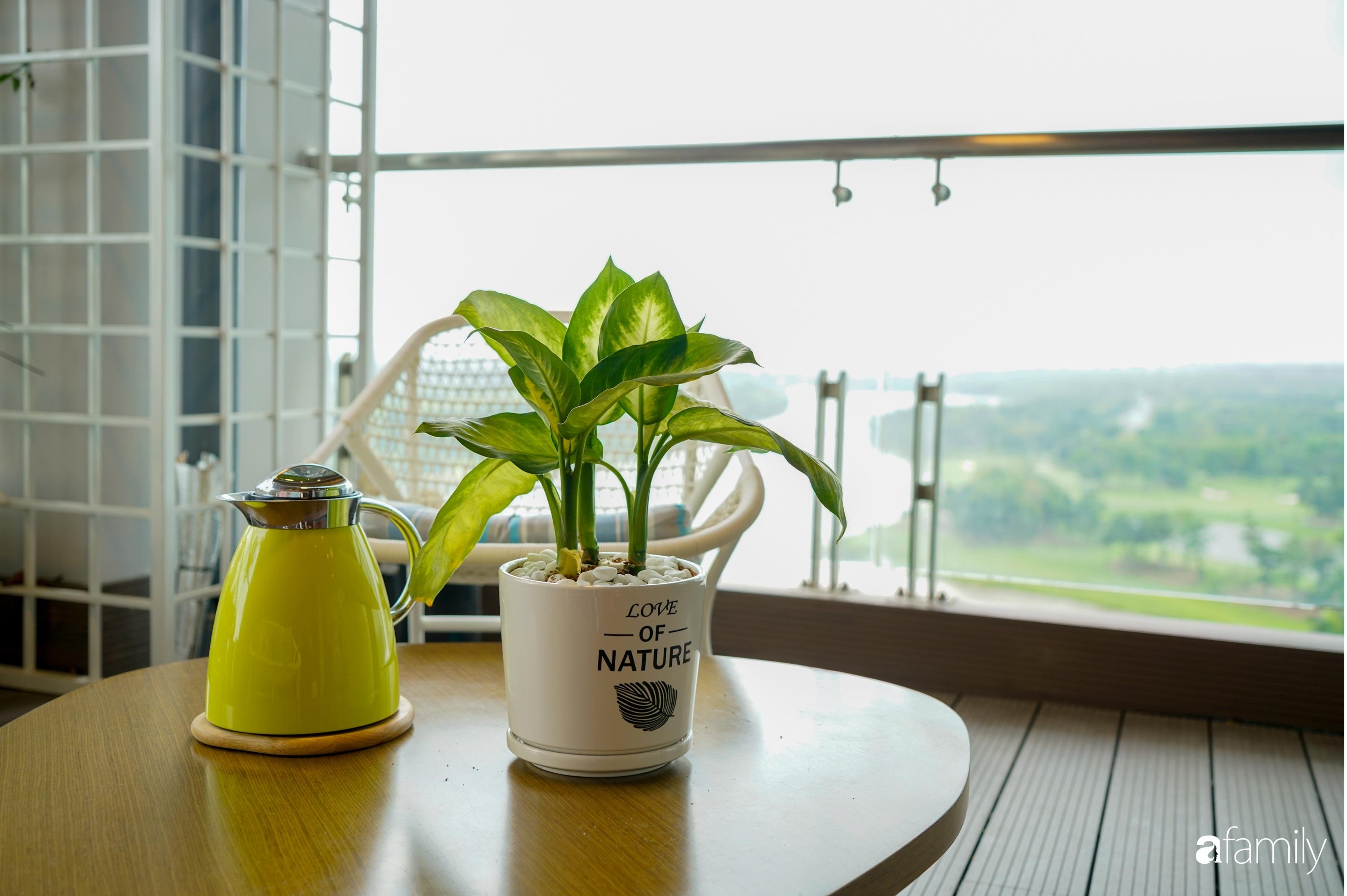 """Căn hộ 150m² có view đắt giá cùng cách thiết kế nội thất """"chanh xả"""" với chi phí khủng 850 triệu đồng ở ngoại thành Hà Nội - Ảnh 10."""
