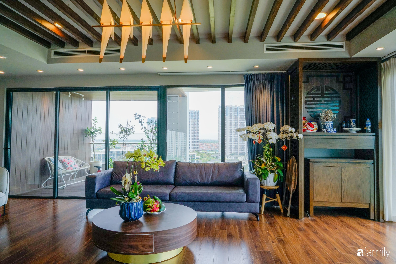 """Căn hộ 150m² có view đắt giá cùng cách thiết kế nội thất """"chanh xả"""" với chi phí khủng 850 triệu đồng ở ngoại thành Hà Nội - Ảnh 4."""