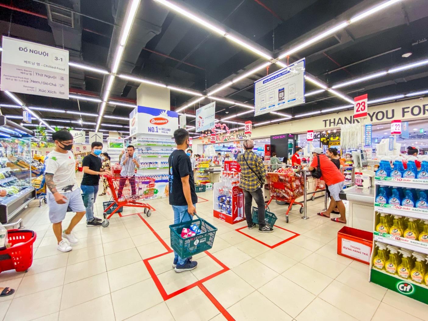 Đi chợ online và offline siêu tiết kiệm với LOTTE Mart - Ảnh 1.