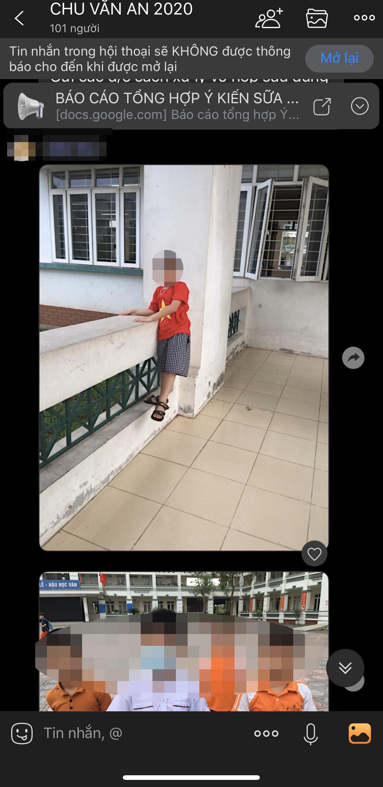"""Phụ huynh ở Hà Nội phản ánh cô giáo """"không cho học sinh quay lại trong trường"""" khiến con gái phải lang thang ngoài đường sau giờ tan học  - Ảnh 3."""
