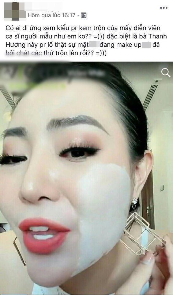 """Diễn viên Thanh Hương """"Người phán xử"""" bị chỉ trích PR mỹ  phẩm kém chất lượng nhưng lại gây cười vì dùng khăn rách lau mặt - Ảnh 2."""