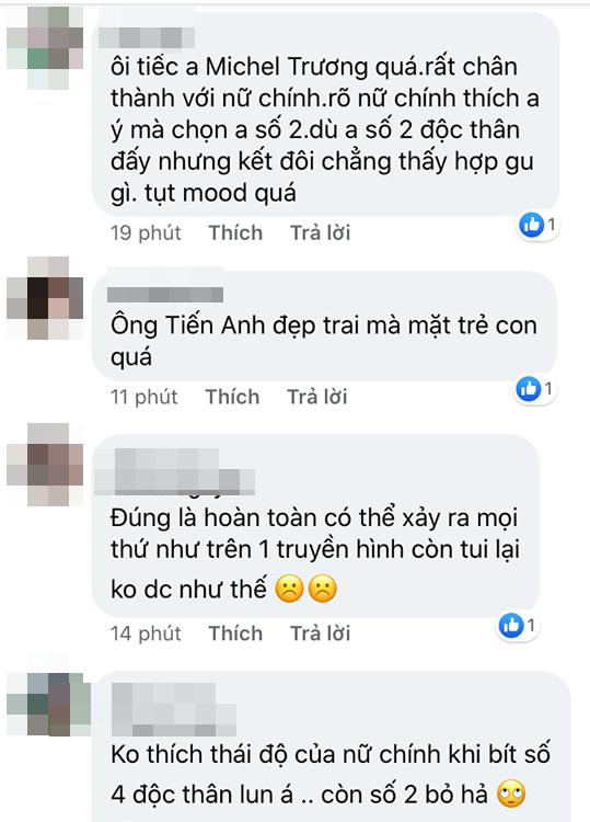 """Fan """"Người ấy là ai?"""" chỉ trích thái độ """"chọn anh này tiếc anh kia"""" của nữ chính Hoa hậu sau khi biết CEO Việt kiều độc thân - Ảnh 7."""