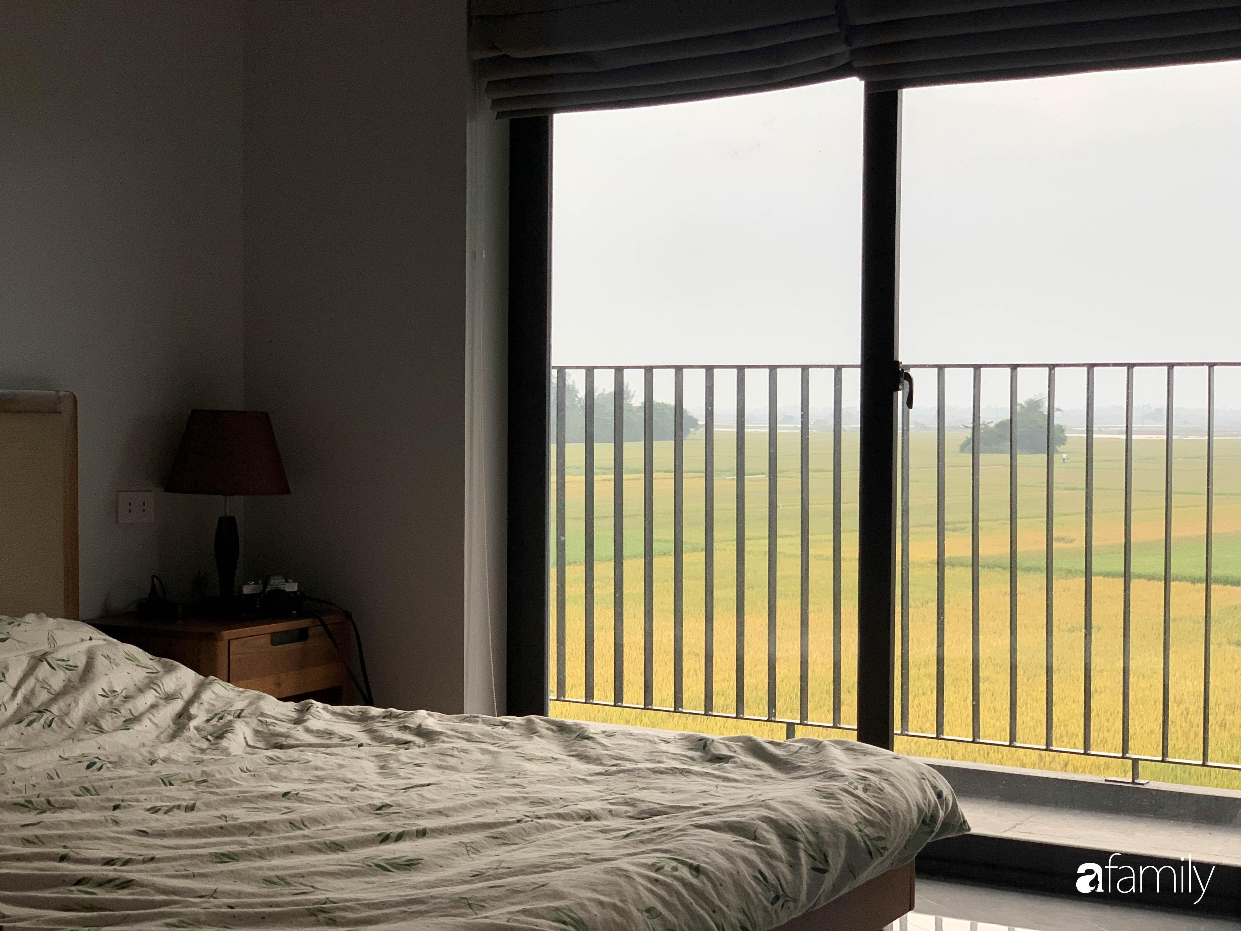 Con trai là KTS xây nhà 2 tầng nhìn thẳng ra cánh đồng lúa với thiết kế tiện dụng cho bố mẹ già ở Hà Tĩnh - Ảnh 19.
