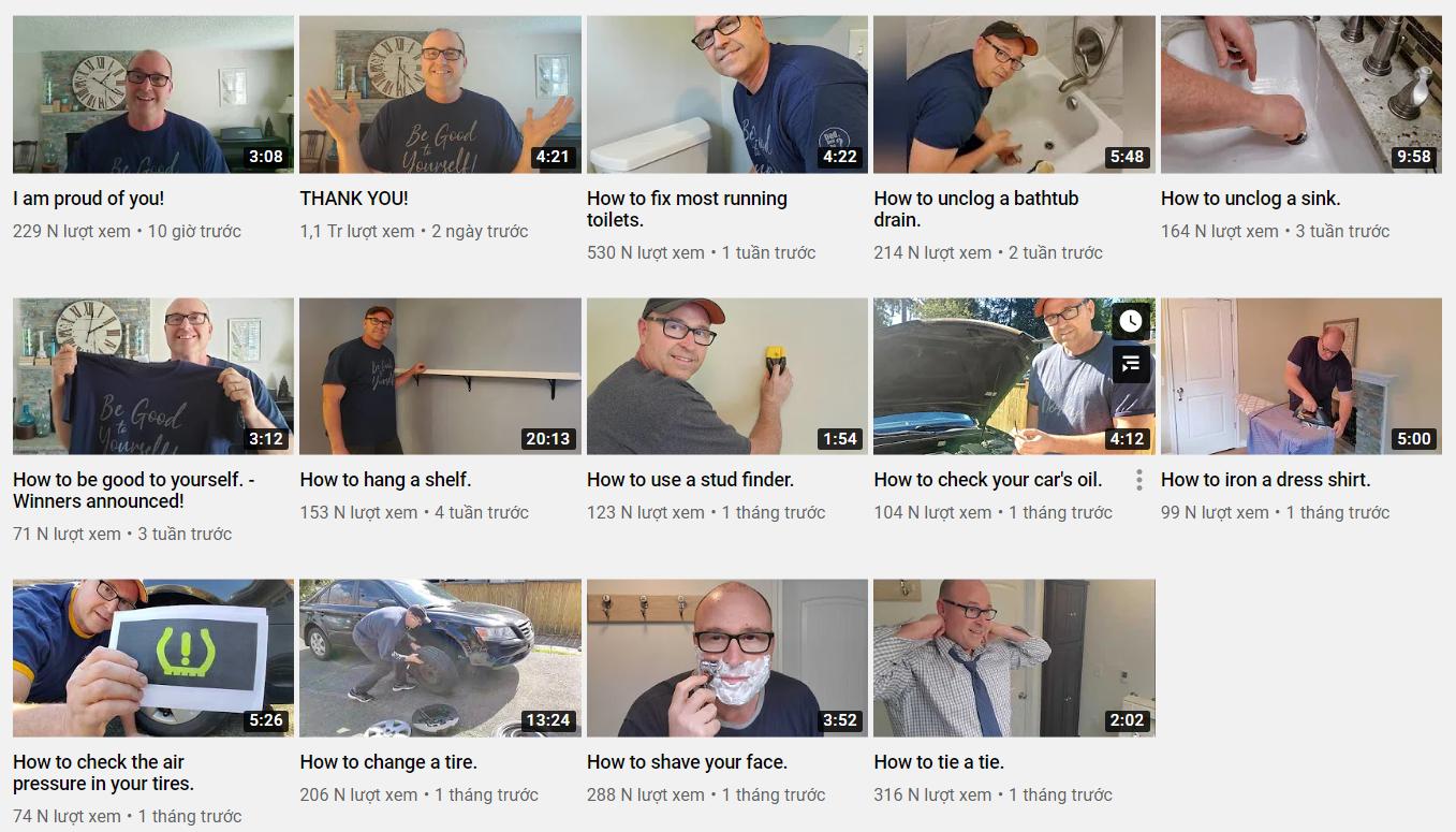 Sống thiếu tình thương của bố từ nhỏ, người đàn ông lập kênh YouTube để dạy kĩ năng sống cho trẻ - Ảnh 1.