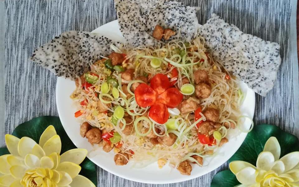 Mùng 1 thưởng thức món chay mới toanh từ Food Blogger Liên Ròm chia sẻ