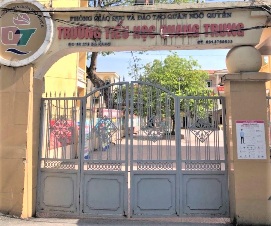 Chỉ đạo mới nhất của Sở Giáo dục và Đào tạo Hải Phòng sau vụ việc học sinh đi học sớm bị đứng ngoài cổng trường - Ảnh 1.
