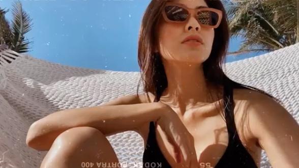 Tăng Thanh Hà mặc áo khoe lưng trần, body săn chắc và làn da rám nắng gợi cảm đến ngỡ ngàng - ảnh 3