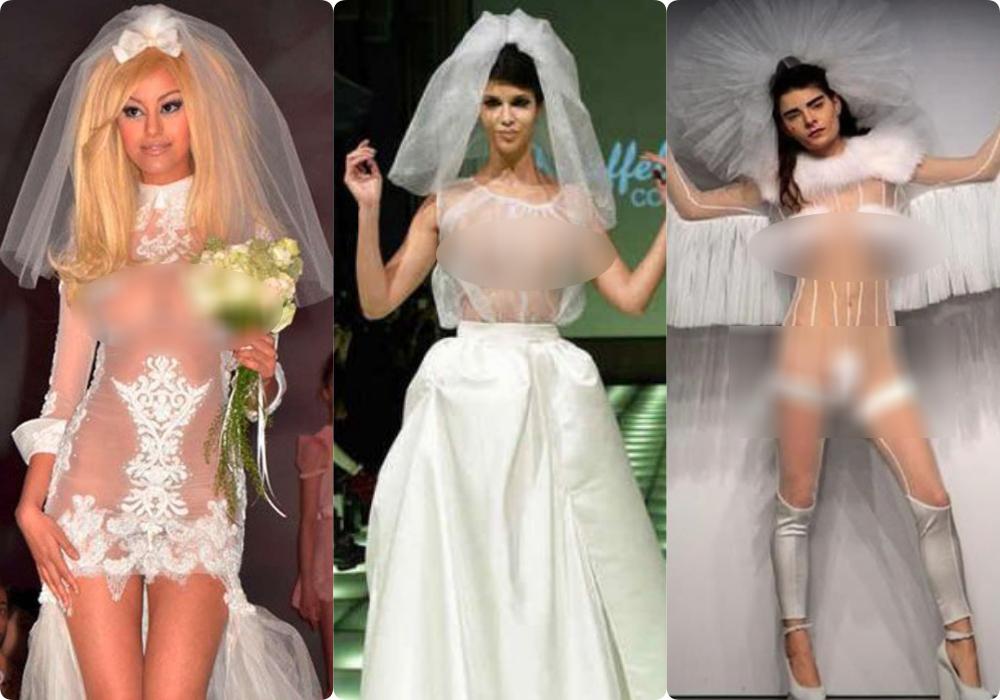 """Tuyển tập những bộ váy cưới """"độc - dị"""" khó cảm, có những pha còn khiến dân tình mắt tròn mắt dẹt - Ảnh 7."""