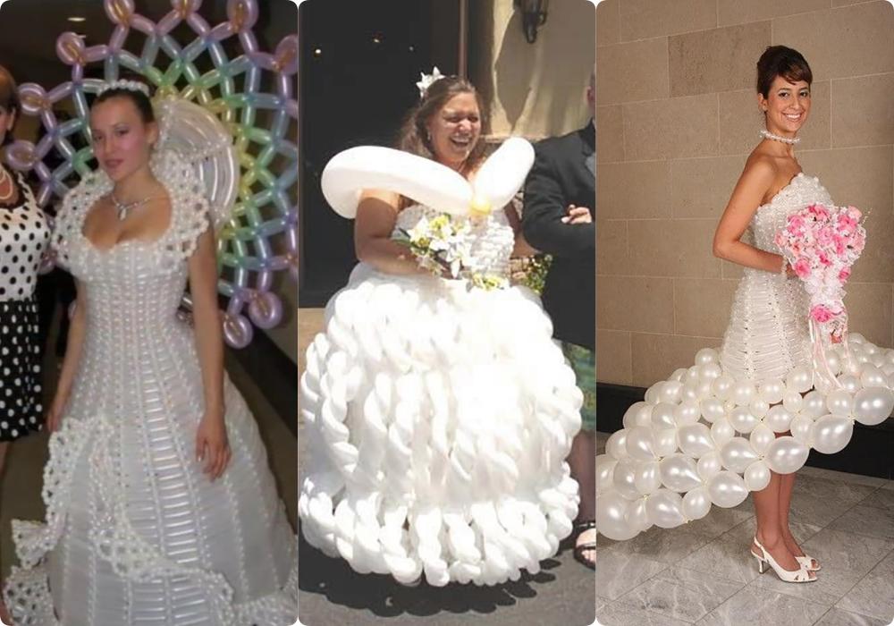 """Tuyển tập những bộ váy cưới """"độc - dị"""" khó ai bằng, có những pha còn khiến dân tình ngán ngẩm - Ảnh 1."""