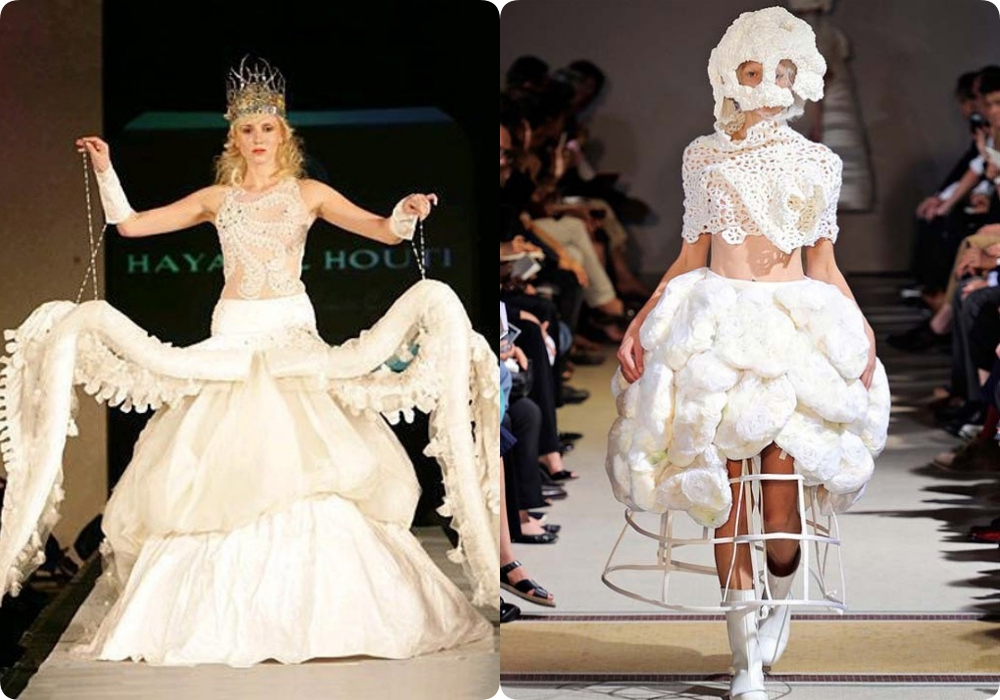 """Tuyển tập những bộ váy cưới """"độc - dị"""" khó cảm, có những pha còn khiến dân tình ngán ngẩm - Ảnh 9."""