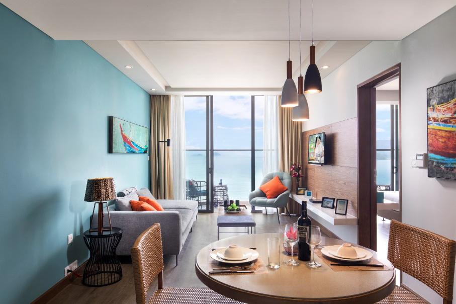 Bên trong khu căn hộ khách sạn 5 sao lý tưởng cho gia đình trẻ - Ảnh 1.