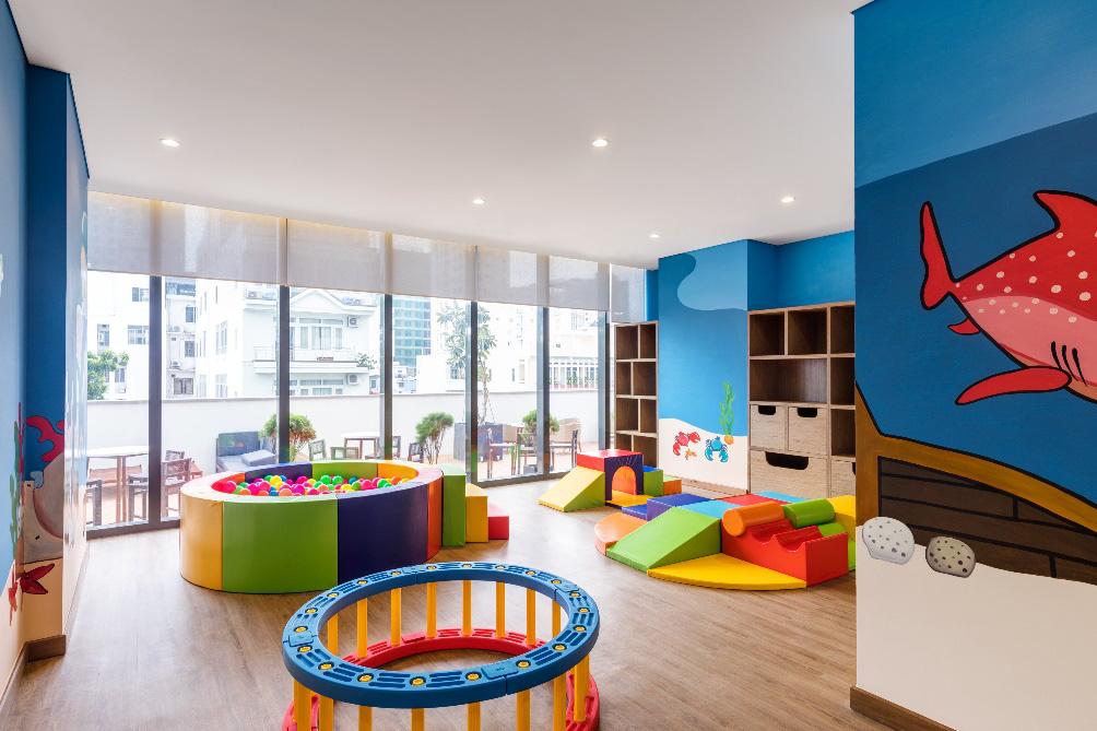 Bên trong khu căn hộ khách sạn 5 sao lý tưởng cho gia đình trẻ - Ảnh 4.