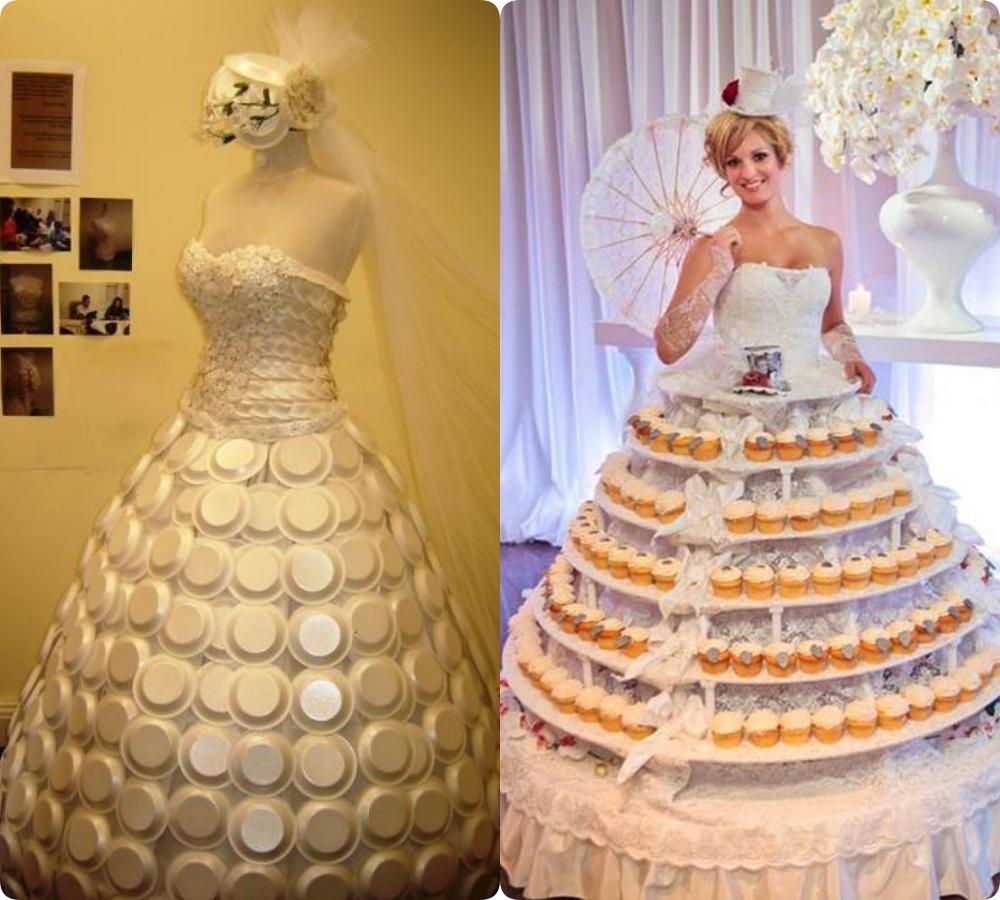 """Tuyển tập những bộ váy cưới """"độc - dị"""" khó cảm, có những pha còn khiến dân tình ngán ngẩm - Ảnh 2."""