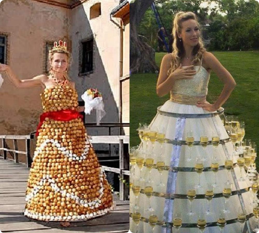 """Tuyển tập những bộ váy cưới """"độc - dị"""" khó cảm, có những pha còn khiến dân tình ngán ngẩm - Ảnh 3."""