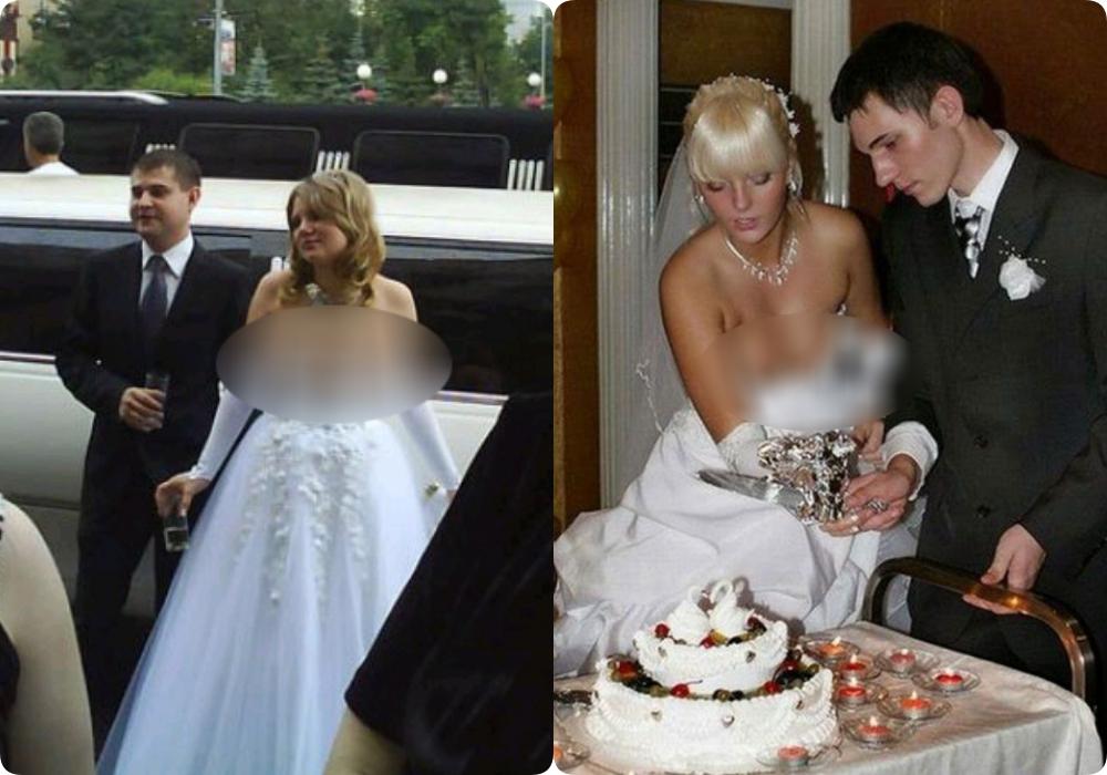 """Tuyển tập những bộ váy cưới """"độc - dị"""" khó cảm, có những pha còn khiến dân tình ngán ngẩm - Ảnh 4."""
