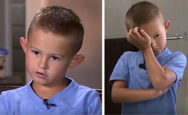 """Con trai bị bạn bè trêu chọc vì có đôi tai vểnh ngược như """"yêu quái"""", mẹ đưa ra quyết định táo bạo thay đổi cuộc đời con"""