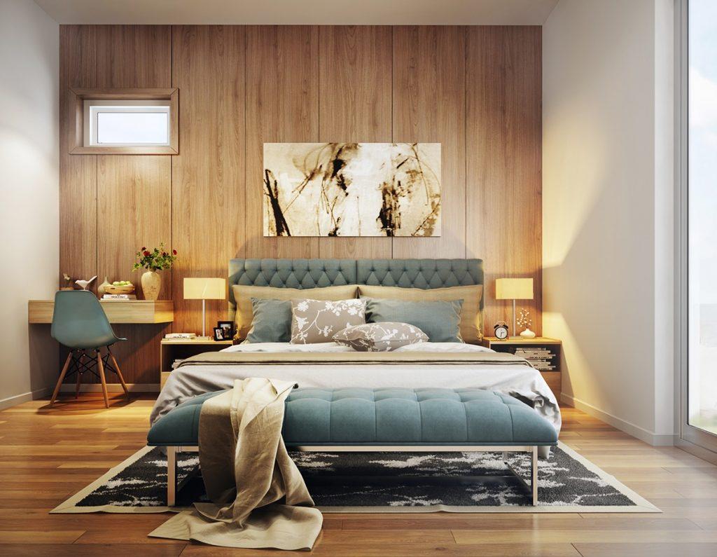 Ý tưởng thiết kế nội thất phòng ngủ diện tích 15m² với tổng chi phí 20 triệu đồng - Ảnh 11.