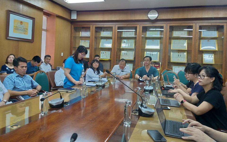 Bệnh viện Bạch Mai lên tiếng sau vụ việc hàng loạt nhân viên bị sa thải