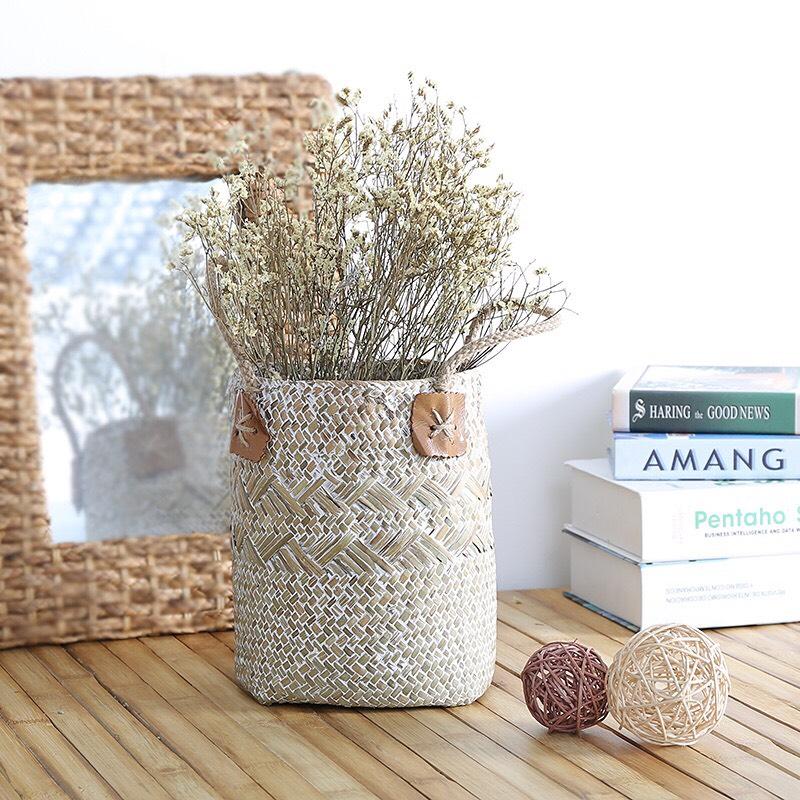 Làm mới ngôi nhà với phong cách đồng quê, thân thiện với môi trường bằng những đồ decor từ cói - Ảnh 10.