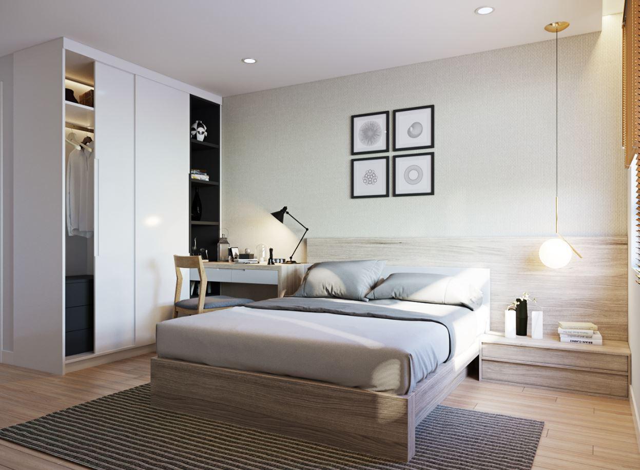 Ý tưởng thiết kế nội thất phòng ngủ diện tích 15m² với tổng chi phí 20 triệu đồng - Ảnh 4.