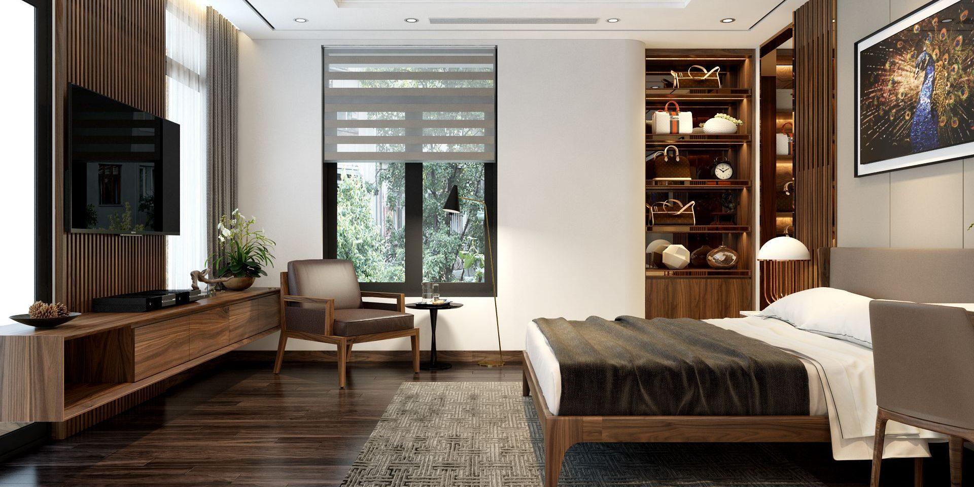 Ý tưởng thiết kế nội thất phòng ngủ diện tích 15m² với tổng chi phí 20 triệu đồng - Ảnh 9.