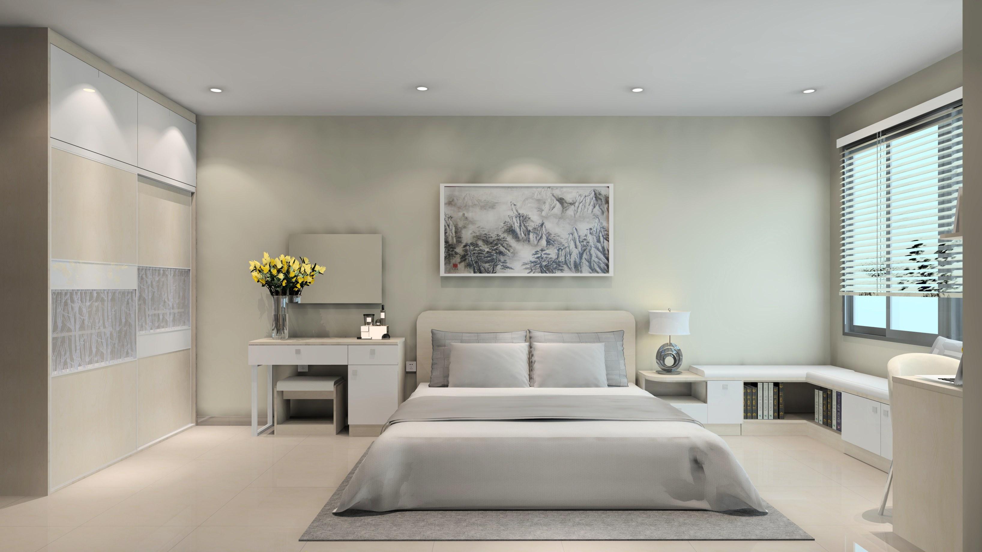 Ý tưởng thiết kế nội thất phòng ngủ diện tích 15m² với tổng chi phí 20 triệu đồng - Ảnh 10.