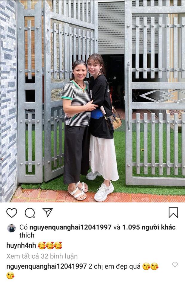 """Vừa về nhà Hải """"con"""" ra mắt, Huỳnh Anh đã làm dân mạng """"đoán già đoán non"""" về video ngắn quay cảnh đi cùng Quang Hải thử vest - Ảnh 1."""
