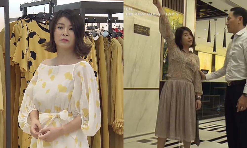 """Màn """"lột xác"""" của Hồng Diễm còn chưa là gì so với Kim Oanh: Style bị dìm quá thể đáng khi lên hình, ngoài đời lại trẻ trung hết xảy - Ảnh 2."""