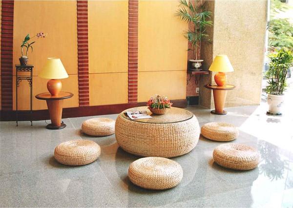 Làm mới ngôi nhà với phong cách đồng quê, thân thiện với môi trường bằng những đồ decor từ cói - Ảnh 11.