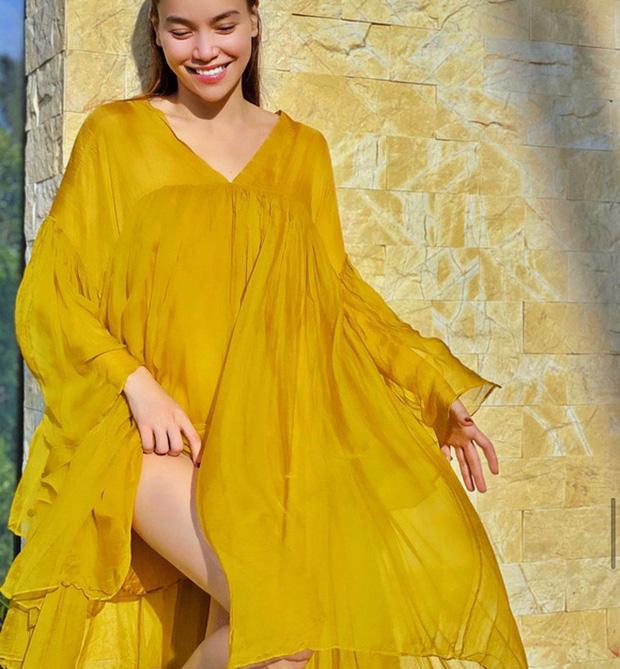 """Style của 4 bà bầu """"chuột vàng"""" tại Vbiz: Điểm chung luôn là đầm suông rộng nhưng có một người lạc khỏi quỹ đạo khi diện hẳn crop top"""