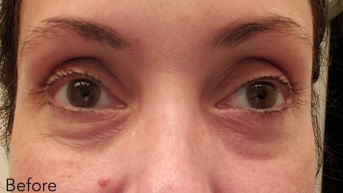 """Người phụ nữ 48 tuổi đã """"là phẳng"""" vùng da mắt thâm nhăn, khiến da mịn đẹp không tỳ vết nhờ loại kem mắt này - Ảnh 1."""