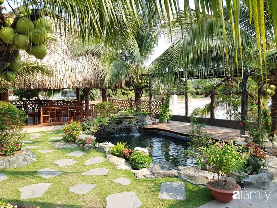 Ngôi nhà làm từ 4000 trái dừa có chi phí xây dựng lên đến 6 tỉ và tâm nguyện của chủ nhà khiến ai cũng bất ngờ - Ảnh 5.