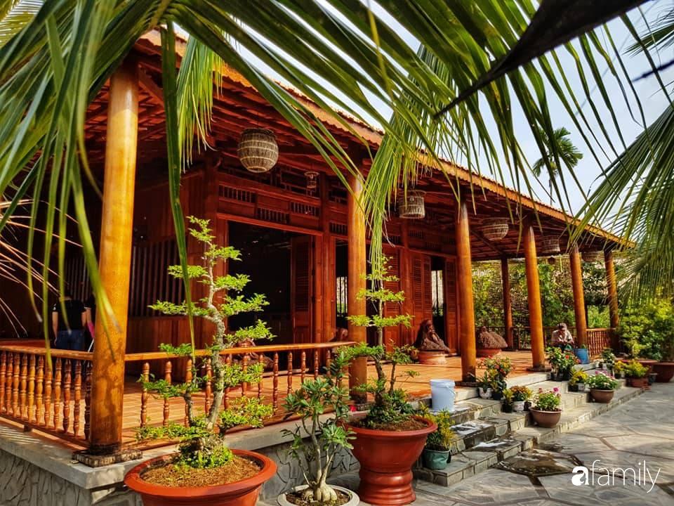 Ngôi nhà làm từ 4000 trái dừa có chi phí xây dựng lên đến 6 tỉ và tâm nguyện của chủ nhà khiến ai cũng bất ngờ - Ảnh 6.