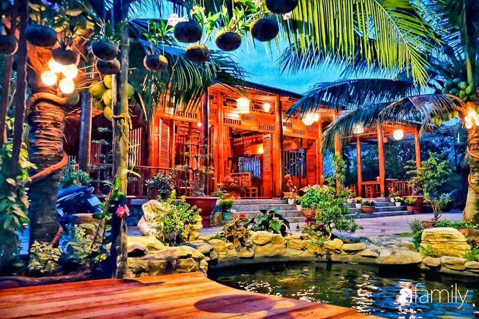 Ngôi nhà làm từ 4000 trái dừa có chi phí xây dựng lên đến 6 tỉ và tâm nguyện của chủ nhà khiến ai cũng bất ngờ - Ảnh 9.