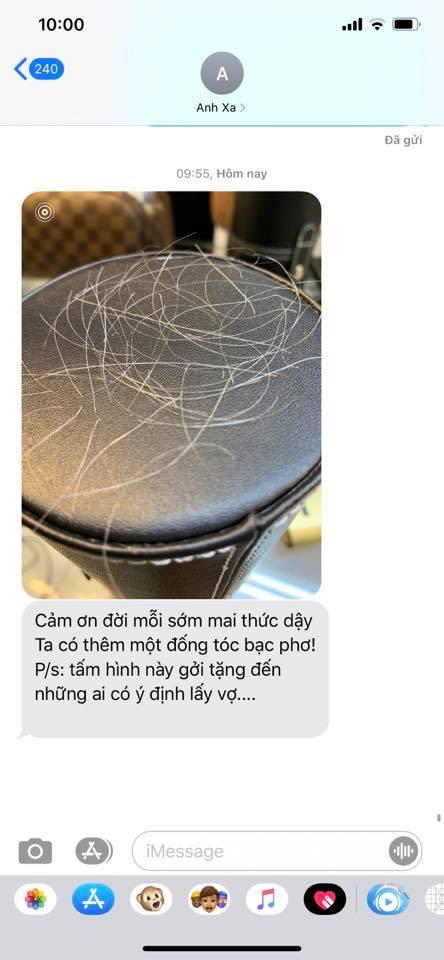 Nhã Phương đứng hình khi nhận được tin nhắn từ Trường Giang với nội dung cảnh báo những người có ý định lấy vợ - Ảnh 2.