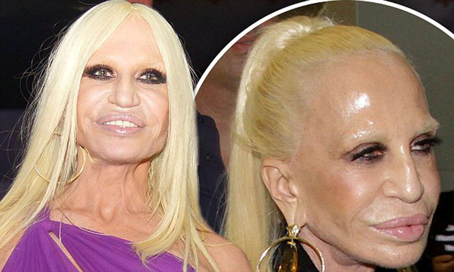 """""""Nữ vương thương hiệu Versace"""" Donatella Versace: """"Búp bê sống"""" của anh trai thời thơ ấu, nghiện ngập rồi tới nhan sắc biến dạng do nghiện thẩm mỹ  - Ảnh 12."""