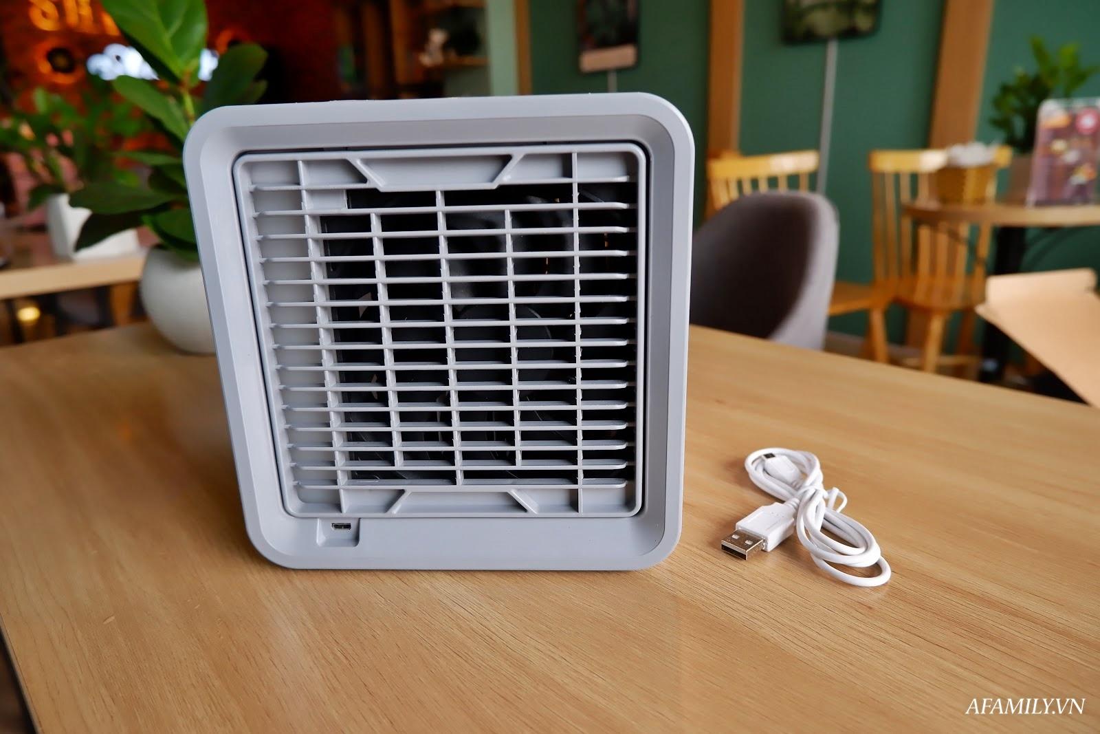 Đánh giá chất lượng quạt làm mát mini Arctic Air: Làm mát không khí có tốt không? - Ảnh 2.