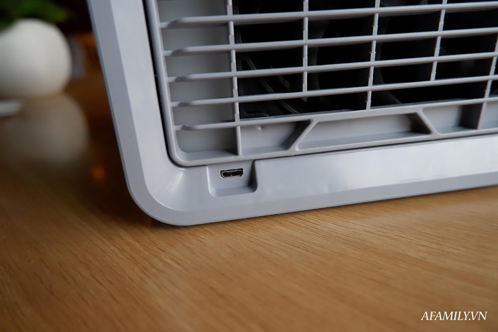 Đánh giá chất lượng quạt làm mát mini Arctic Air: Làm mát không khí có tốt không? - Ảnh 4.