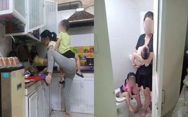Vừa mổ đẻ được 5 ngày đã bị chồng sai làm việc nhà, chị vợ cao tay xử lý khiến dân mạng khen nức nở