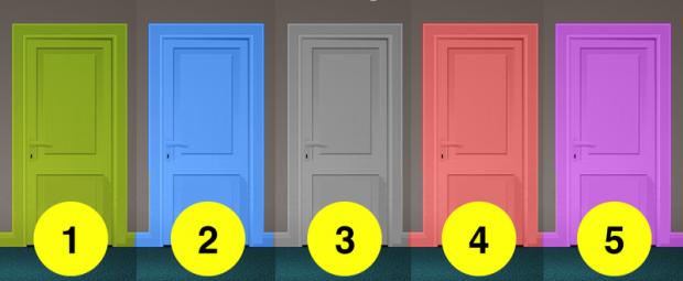 Đâu là cánh cửa bạn muốn bước vào nhất? Câu trả lời sẽ tiết lộ bạn là người thông minh hay cứng đầu, chấp nhận hy sinh bản thân mình  - Ảnh 1.