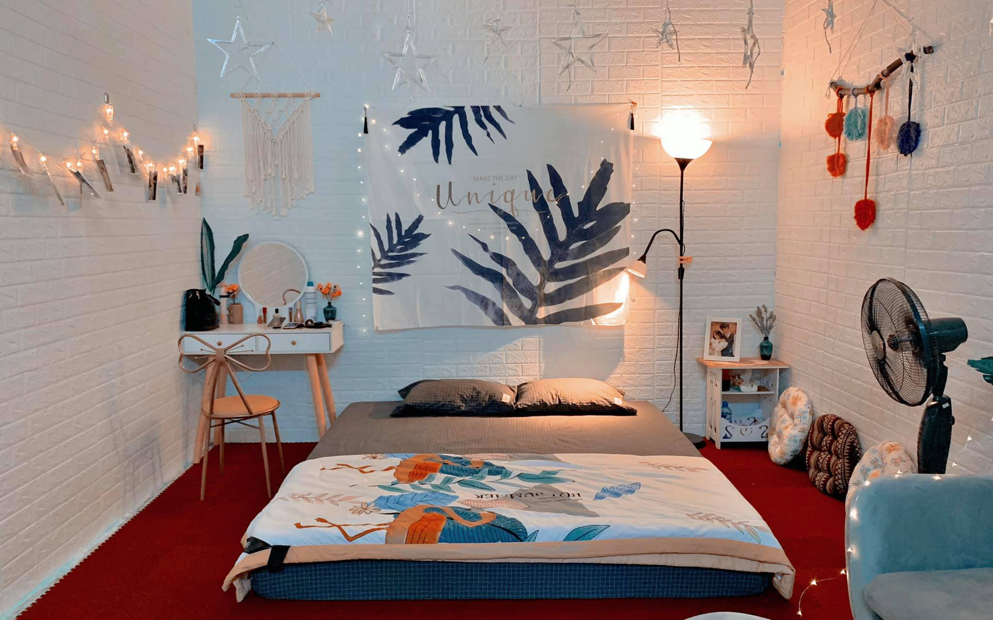 Gợi ý cách tự tay decor phòng 15m² cực chill từ A đến Z với 10 món đồ nội thất, chi phí chỉ 2 triệu đồng
