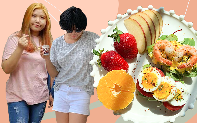 Áp dụng thực đơn cực đủ đầy và ngon mắt, quý cô xứ Hàn giảm  9kg trong thời gian ngắn
