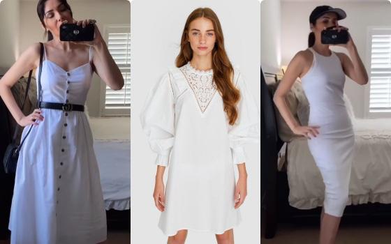 Thử 7 mẫu váy trắng từ Zara, H&M và ASOS, BTV thời trang gợi ý loạt cách lên đồ hack tuổi và hack dáng vi diệu dành cho nàng 35+