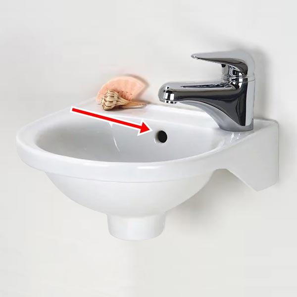 Lỗ nhỏ trên bồn rửa mặt, hình ảnh rất quen thuộc nhưng không phải ai cũng biết vì sao nó lại ở đó - Ảnh 1.