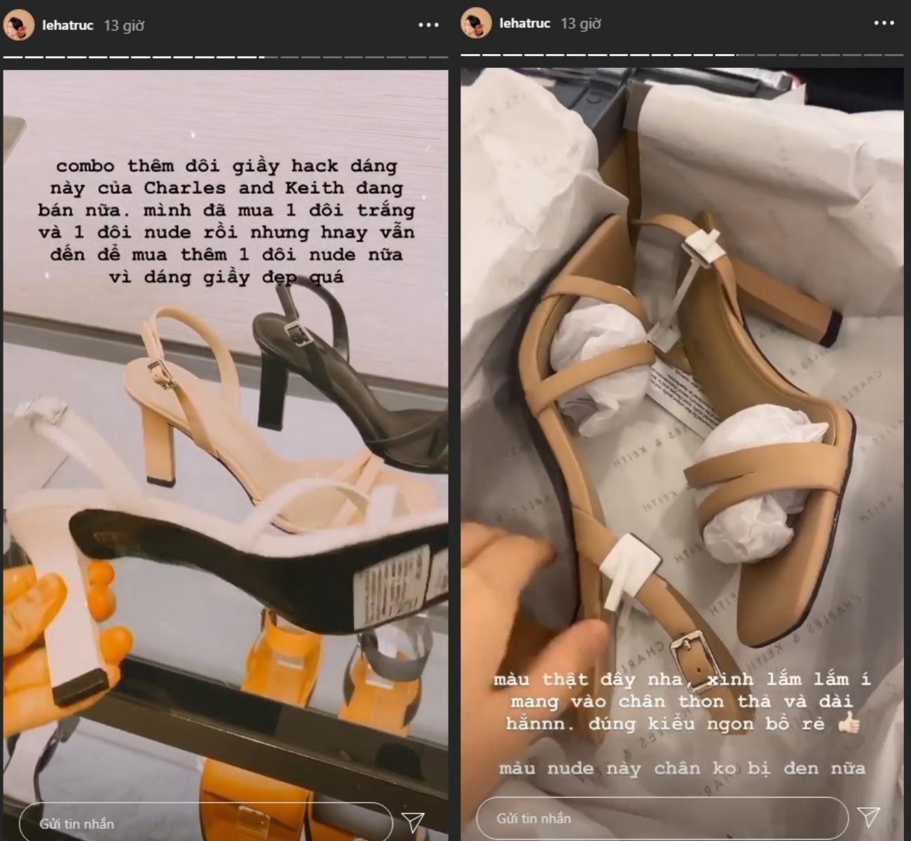 """Vì đôi giày này hack dáng quá vi diệu mà """"bản sao Hà Tăng"""" mê mẩn mua liền 3 đôi khác biệt - Ảnh 2."""