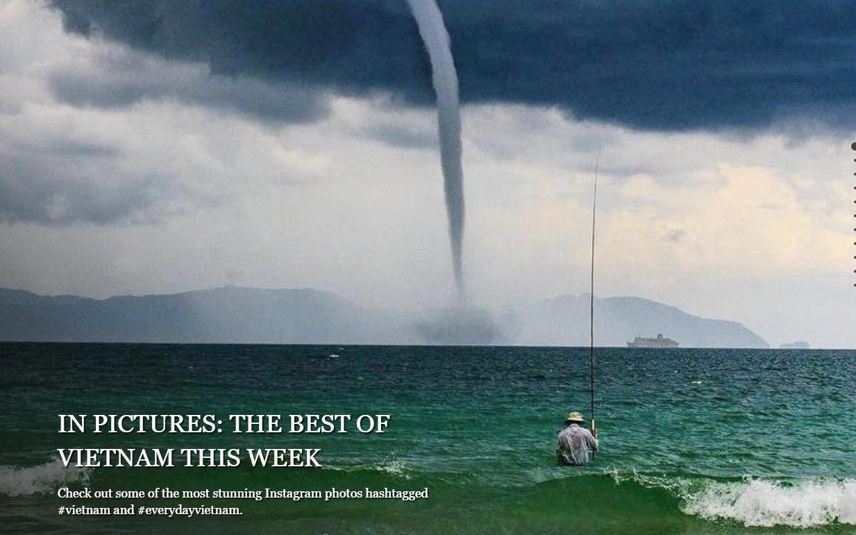 """Bức ảnh """"Ông già và biển cả"""" phiên bản Việt lọt top 12 ảnh về câu chuyện đại dương do National Geographic bình chọn và chia sẻ đầu tiên của chính tác giả"""