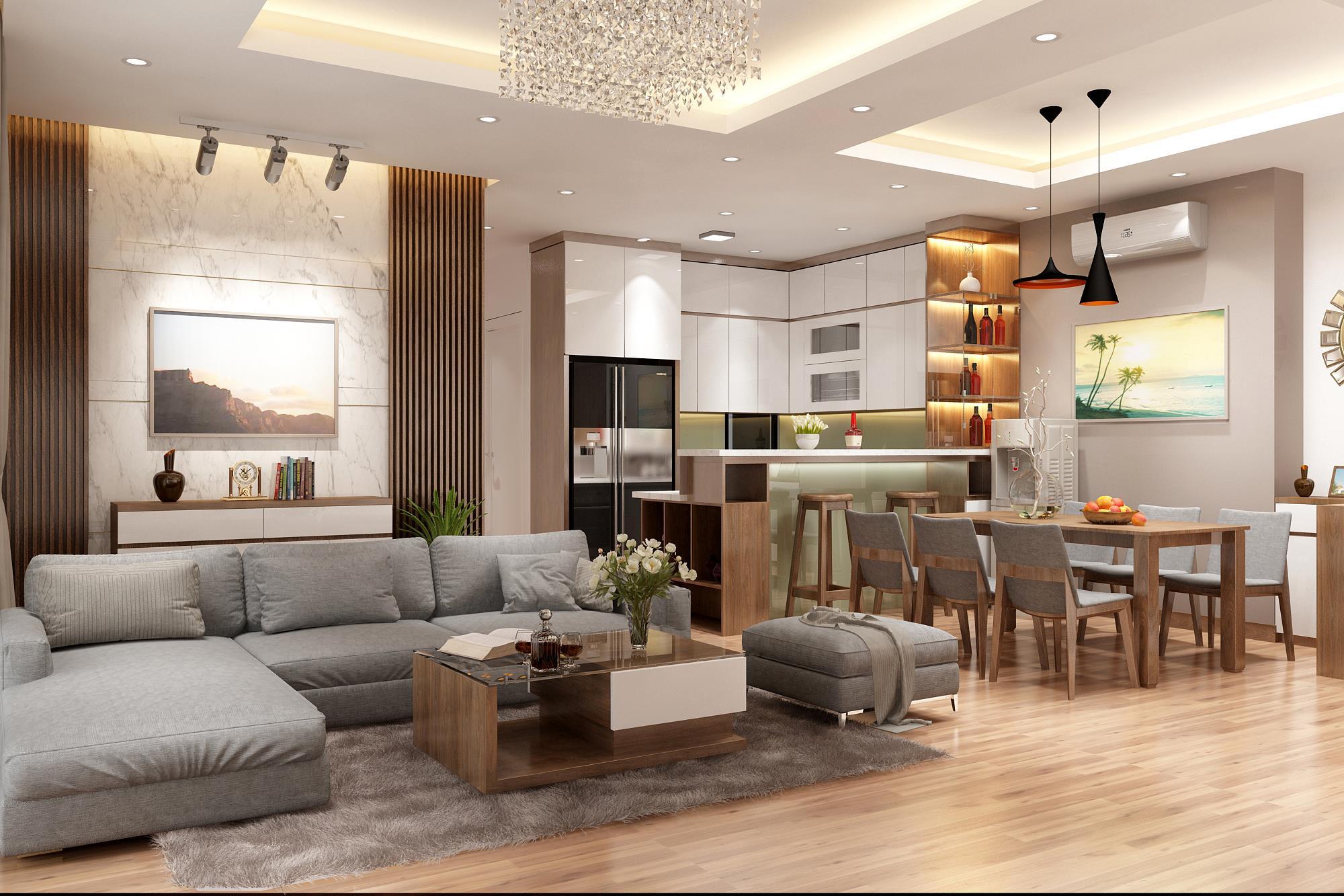 Tư vấn thiết kế nội thất nhà ở cấp 4 nhỏ xinh theo phong cách hiện đại tối giản và với chi phí tiết kiệm chỉ 50 triệu - Ảnh 4.