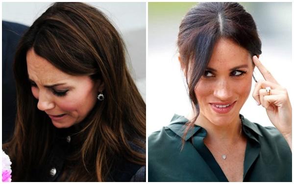 """Tiết lộ mới gây sốc về """"mối thù hận"""" giữa Meghan Markle và chị dâu Kate hóa ra bắt nguồn từ lý do không ai ngờ, khiến hoàng gia Anh phải chao đảo - Ảnh 2."""
